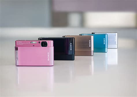 Kamera Sony T90 sony lancerer 8 nye cyber kameraer mydigitalphotos dk