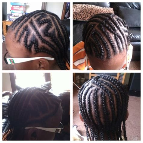 cornrow hairstyles for little boys 232 best braided hairstyles for black boys men images on