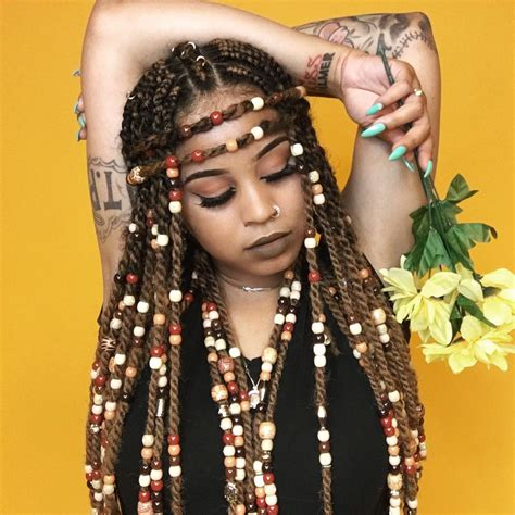 bead hairstyles braids with hairstyles for a beautiful and