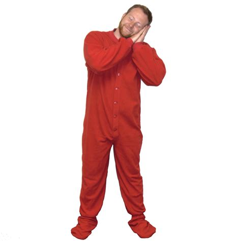 Footed Sleepers For Adults fleece footed pajamas