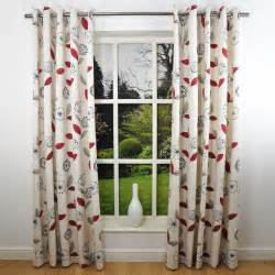 5 kinds of modern print curtains