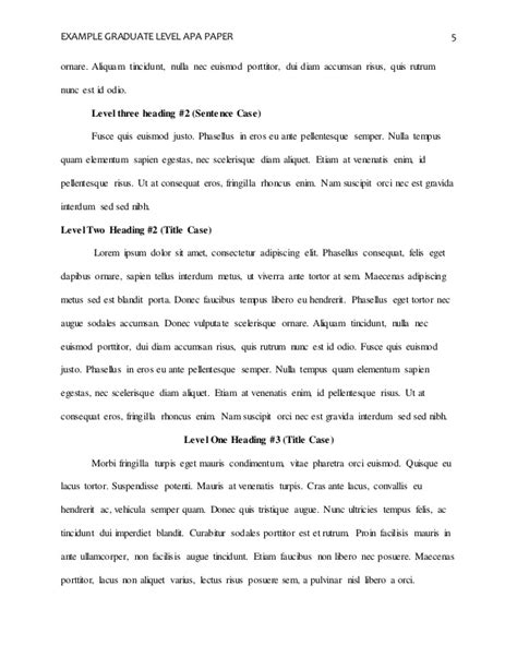 Exle Introduction Essay by Apa Sle Research Paper Quot Abstract Introduction And References Quot