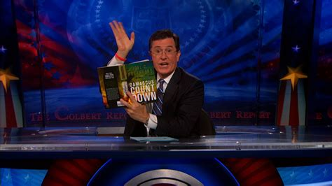 the colbert report 05 14 sign off quot damascus countdown quot the colbert report