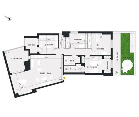 r b appartement appartement b r 3 r 233 sidence panorama ennasr