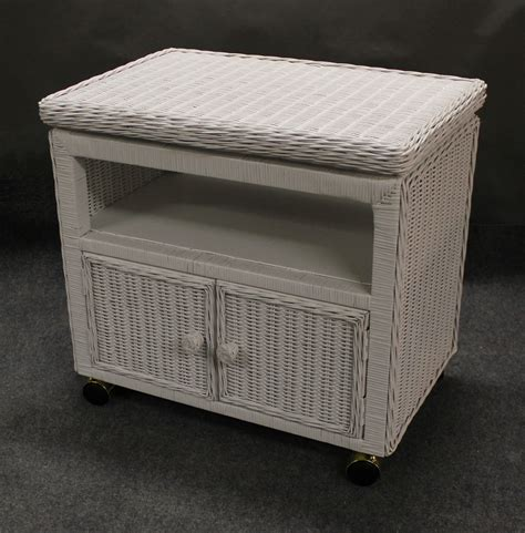 outdoor wicker tv cabinet swivel top wicker tv stand microwave cart available in