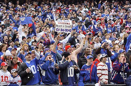 york giants fans luck york giants