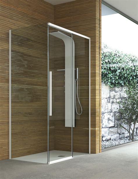 cabina doccia senza piatto box doccia quale chiusura scegliere cose di casa
