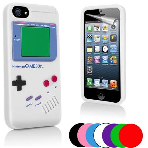 Housing Casing Fullset Apple Iphone 5 5g Original Quality gameboy style silicone skin for apple iphone5 iphone 5 5g ebay