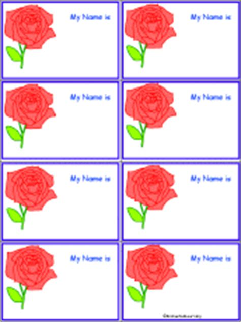 penguin nametags to print in color enchantedlearning com rose nametags to print in color enchantedlearning com