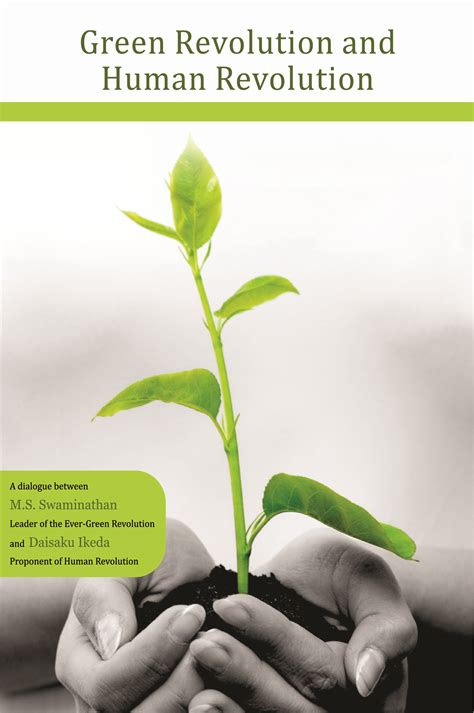 and human green revolution and human revolution by daisaku ikeda eternal ganges press pvt ltd