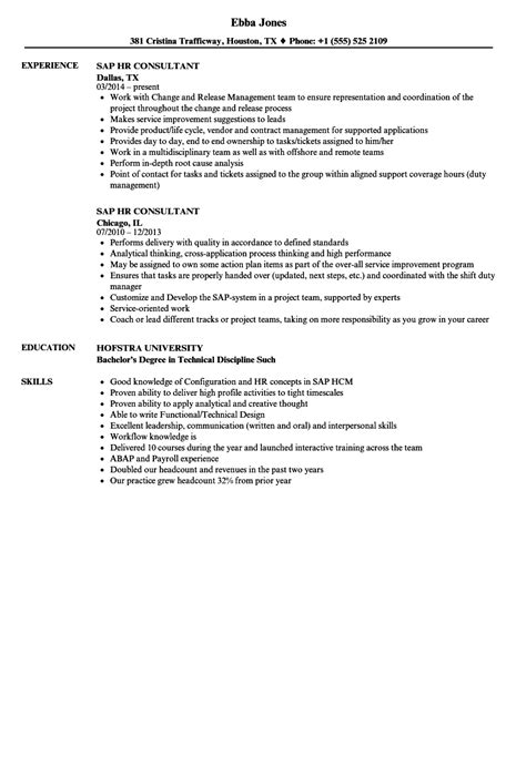consultant resume template 7 free samples examples