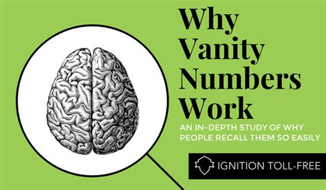 Vanity Number by Memorable Business Phone Numbers Ignition