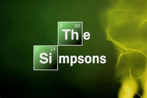breaking bad couch gag the simpsons cooks up breaking bad couch gag