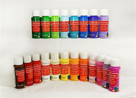 acrylic paint or paint craft smart delta acrylic paint 2 fl oz 1 bottle 40