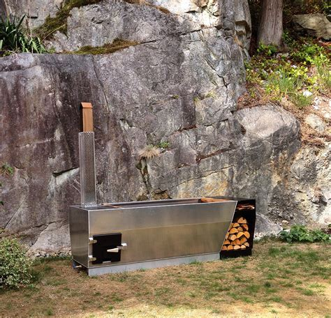 outdoor bathtub wood fired soak outdoor wood fired hot tub the coolector