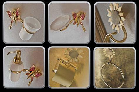 etrusca arredo bagno accessori bagno con farfalle e fiori ceramiche bagno