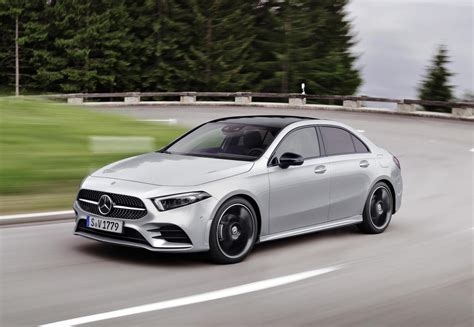 2019 Mercedes A Class Usa by 2019 Mercedes A Class Sedan Revealed Performancedrive