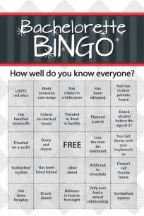 Bachelorette Bingo Template by Bachelorette Guide To Be Bachelorette Themes