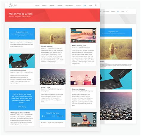 divi theme blog homepage divi theme the blog module and a little extra divi theme