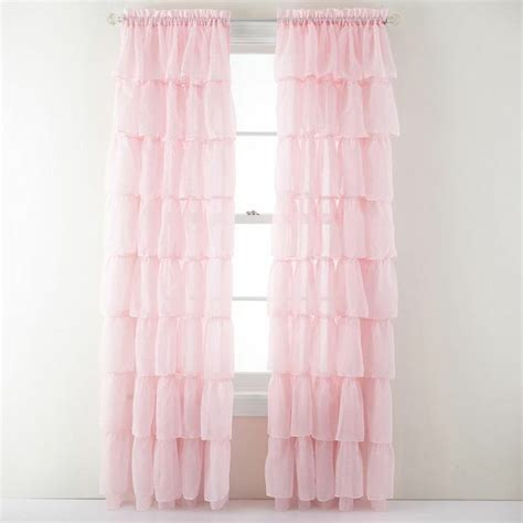 Ruffled Curtains Nursery Curtains Baby Nursery Ideas Curtains And Ruffles