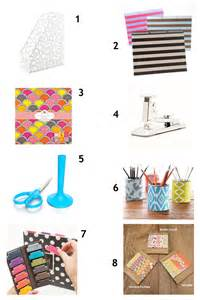 Trendy Desk Accessories Just The Pretty Things Chic Desk Accessories