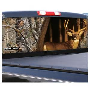 Truck Accessories Canada Free Shipping Camowraps 174 Whitetail Graphic Rear Window For Compact