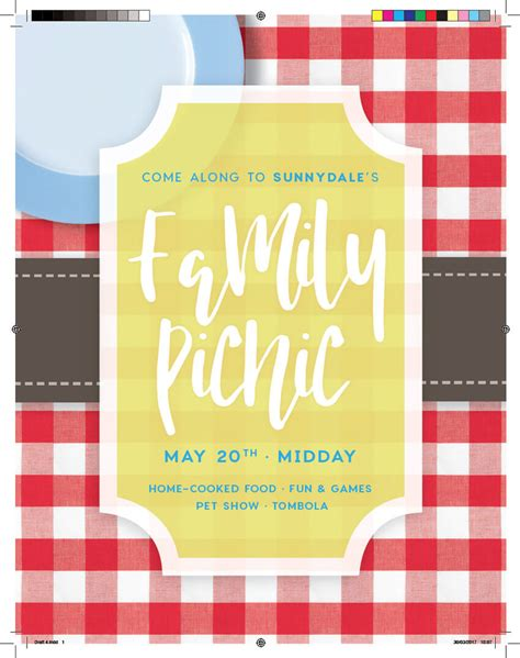 Graphic Design Basics 4th Edition By Arnston how to create a summer picnic community event flyer in