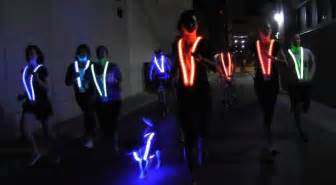 Lights For Runners Color Changing Led Vest Offers One Mile Visibility For