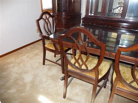 Mahogany Dining Room Set by Mahogany Dining Room Set By Knechtel South
