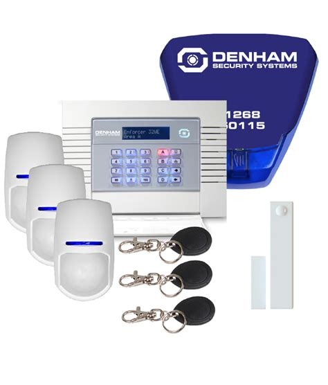 wireless alarm kit essex from denham security systems ltd