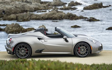 Alfa Romeo Wallpaper by 2016 Alfa Romeo 4c Spider Wallpapers Hd High Resolution