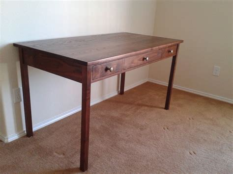 handmade walnut writing desk by tom s handcrafted