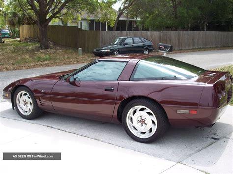 1993 corvette 40th anniversary edition specs autos post