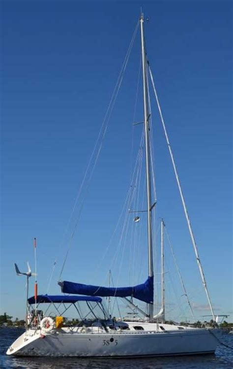 longest lasting boat bottom paint beneteau first 38s5 1993 stuart florida sailboat for