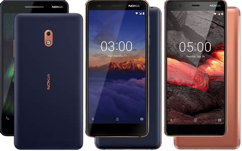 los celulares nokia 2 1 3 1 y 5 1 llegan a m 233 xico con telcel