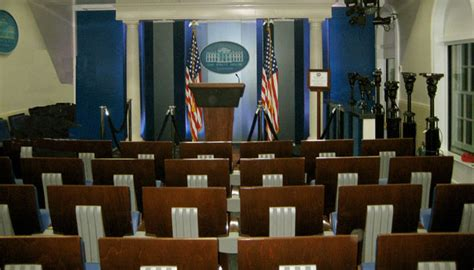 white house press room obama has decided press conferences are for chumps jameswagner