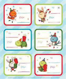 Com has the cuteset gift tags that you can print for free