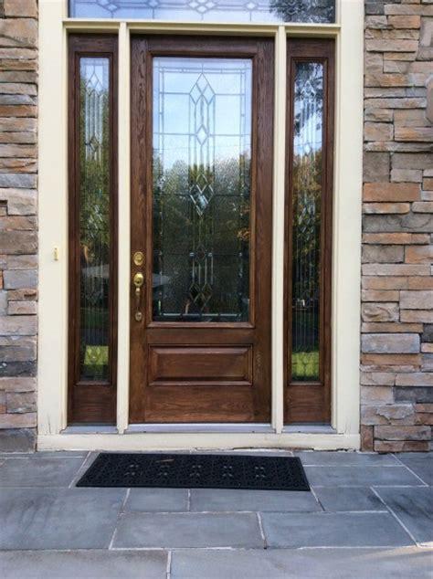 Exterior Door Window Trim Replacement Door Trim Replacement Traditional Exterior New York By Monks Home Improvements