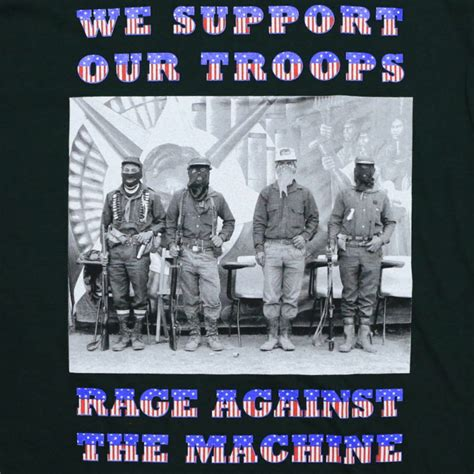 Rage Against The Machine Sweater rage against the machine we support our troops shirt 1990s