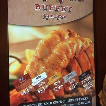 Choices Buffet 1986 Photos 801 Reviews Buffets Pala Casino Buffet Price