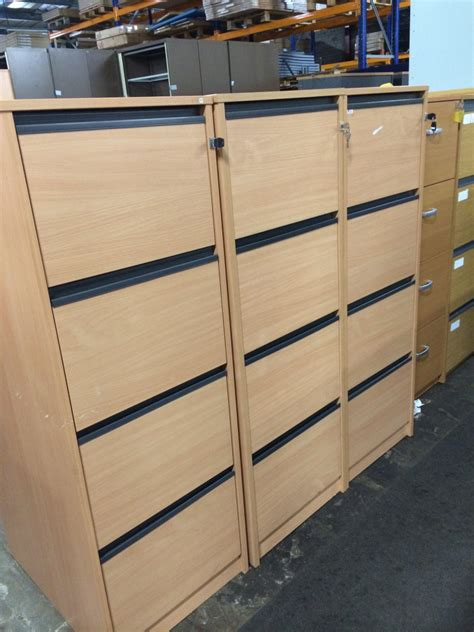 Used Wooden Filing Cabinets 1.12.15   Office Furniture Centre