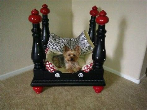 diy dog r for bed end table dog bed pet beds diy ideas pinterest dog beds end tables and 3 4 beds