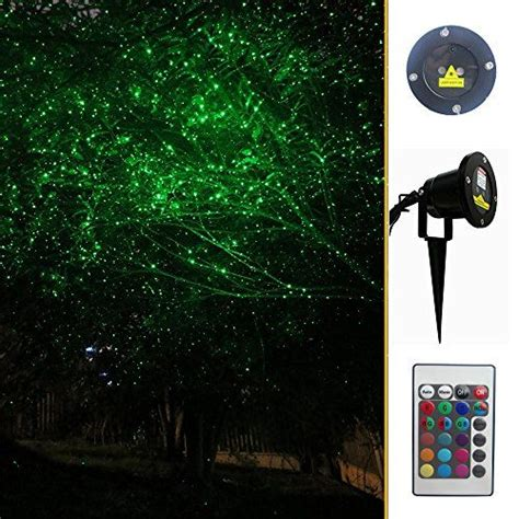 garden light with many laser light commas for outdoor