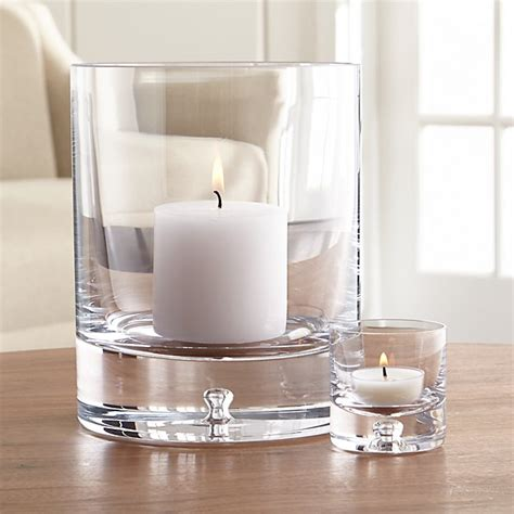 Glass Candle Holder by Direction Glass Candle Holders Crate And Barrel