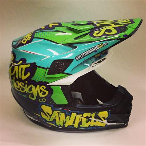 motocross helmet wraps just got my helmet wrap moto related motocross