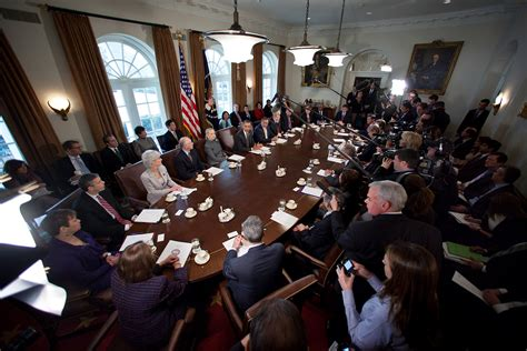 Presidents Cabinet by A Cabinet Meeting Focused On Small Business Whitehouse Gov