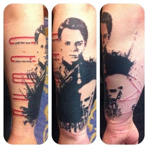 gary tattoo 02 arm gary numan tattoos gary numan