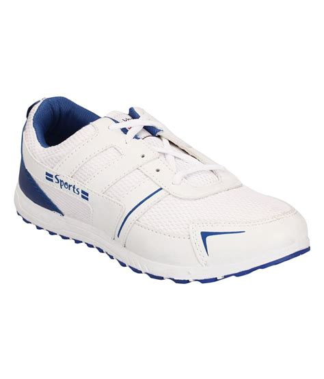 lakhani sports white rubber sport shoes available at