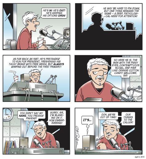 yuge 30 years of doonesbury on doonesbury comic author garry trudeau publishes 30