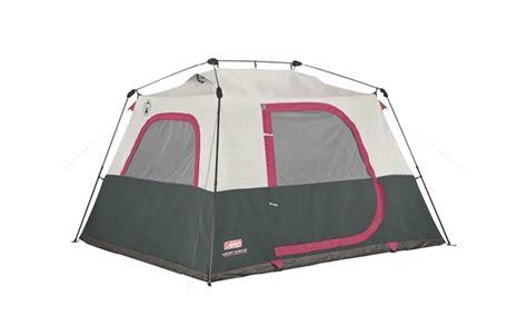 Coleman Instant 6 Cabin Tent by 96 Cing Cabin Tents Slumberjack Overland 10
